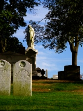 A view of Mount Pleasant Cemetery on September 29, 2010.