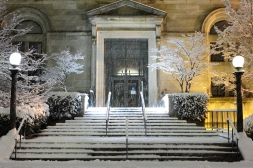 It's a new year, be sure to visit the Robbins Library! December 29, 2012.