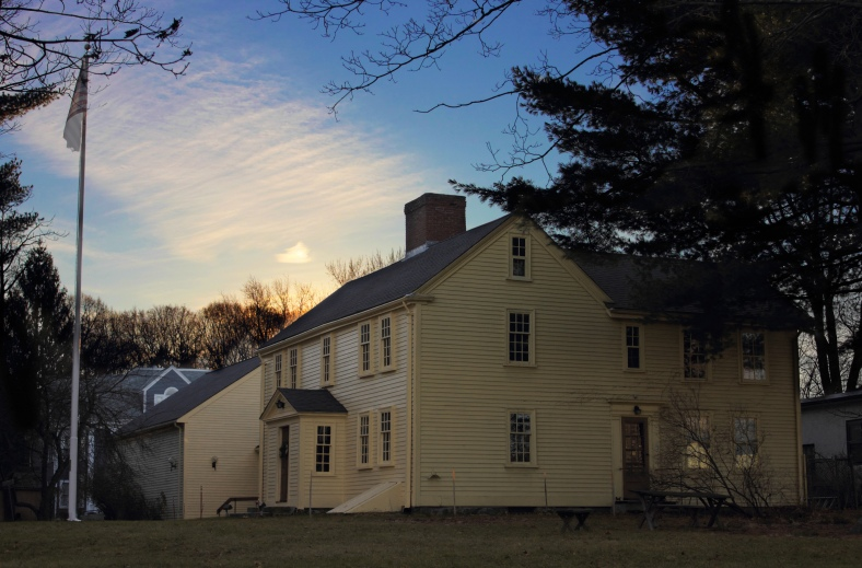 A view of the historic Jason Russell House.December 11, 2012.
