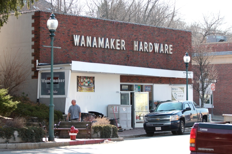Wanamaker Hardware in Arlington Heights.March 20, 2012.
