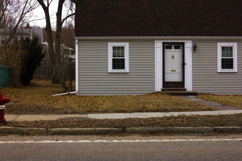 A home on U.S. Route 3, also known as Mystic Street to Arlingtonians. March 28, 2014.