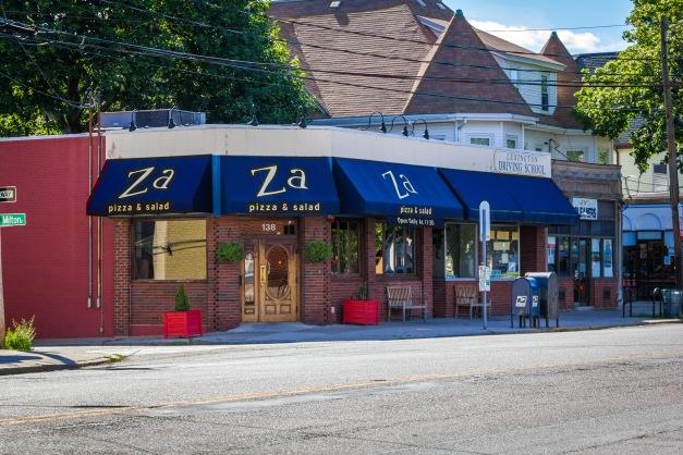Za pizza restaurant in East Arlington. June 20, 2014.