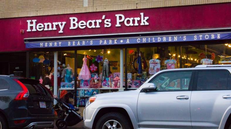 A children's store on Massachusetts Avenue. October 10, 2014.