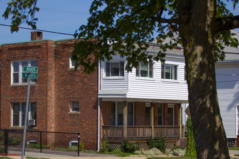 A residence on River Street in East Arlington. August 29, 2015
