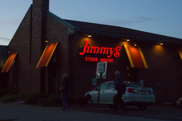 JImmy's steak house on Massachusetts Avenue. September 26, 2015.