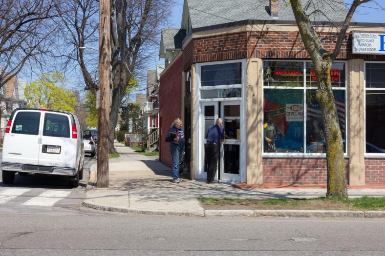 Store owners open 111 Massachusetts Avenue. April 26, 2013.