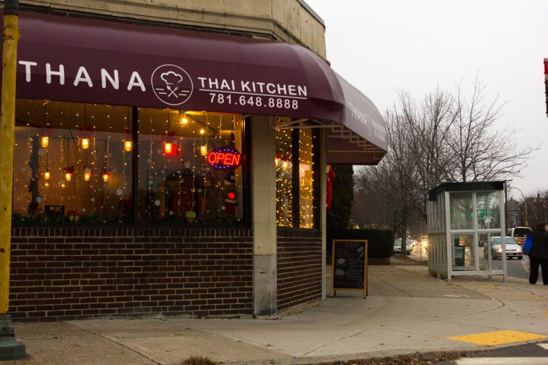 Thank Thai Kitchen on the corner of Massachusetts and Highland Avenues. December 14, 2015